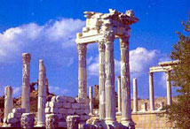 Temple of Trajan at Pergamon Acropolis
